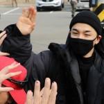 SOL(BIGBANG)、妻ミン・ヒョリンに見送られ国防の義務へ