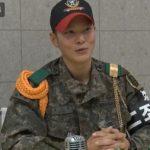 """白骨部隊助教チュウォン、""""訓練兵クォン・ジヨン(G-DRAGON)、とても頑張っている"""""""