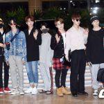 「PHOTO@金浦」SEVENTEEN、TRCNGら、「KCON 2018 JAPAN」参加のため韓国出国
