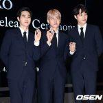 「PHOTO@ソウル」EXOスホ、ベクヒョン、カイ、「EXO公式記念メダル」の公開イベントに出席