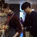 「ヒョリの民宿」俳優パク・ボゴム、ユナ(少女時代)のエプロンのひもを結ぶ