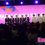 """「取材レポ」(13日)「KCON 2018 JAPAN 」CODE-V、D.tion """"シークレットゲストでgugudan登場!""""トークで楽しませる KCON コンベンションTUNAGARU STAGE開催"""