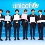 世界的ヒップホップボーイズグループ BTS (防弾少年団) が応援する ユニセフ#ENDviolenceキャンペーン