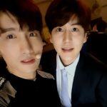 東方神起チャンミン&SUPER JUNIORキュヒョン、同い年の親友の温かいビジュアル