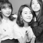 """""""解散しても友情は永遠""""元「4Minute」ガユン&ジユン&ソヒョン、近況公開!"""
