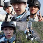 Wanna Oneパク・ジフン&パク・ウジンがアジア最長のジップラインに挑戦