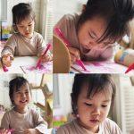 第2子妊娠中のユジン(S.E.S.)、長女ロヒちゃんの近況を公開