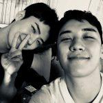 SEHUN(EXO)& V.I(BIGBANG)、友だち3年目の記念ショットが話題
