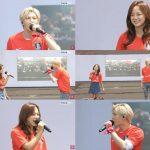 「VIXX」レオX「gugudan」セジョン、ロシアW杯出場のサッカー韓国代表チーム出征式で応援歌を熱唱!