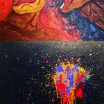 「SEVENTEEN」ミンギュ&THE8、デビュー3周年記念展示会で絵の作品を公開!