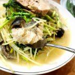 <トレンドブログ>【韓国グルメ】 新沙・カロスキルで辛くない白いアグチムとあん肝の晩餐