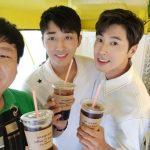 東方神起ユンホ&俳優ソン・ホジュン、寄付も一緒にする暖かい友情