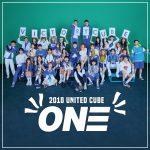 <2018UNITEDCUBE–ONE->! コンサートで先行公開された4つの新曲が DigitalSingle[ONE]として発売決定!