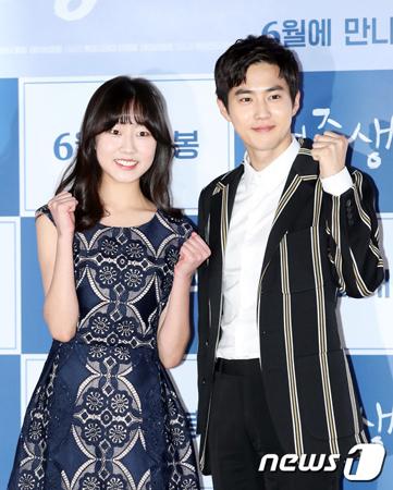 SUHO(EXO)、映画「女子中学生A」で共演キム・ファンヒとジェネレーションギャップを語る