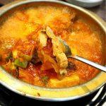<トレンドブログ>【韓国グルメ】 東方神起も通う美味しいキムチチゲ屋さんでおひとり様ランチ