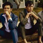 <トレンドブログ>チョン・ウソン×イ・ジョンジェ×ハ・ジョンウ、ダンディーすぎるトップ俳優のグラビア共演が話題!