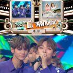 Wanna One、「ミュージックバンク」で1位獲得…お尻で名前書きセレモニー