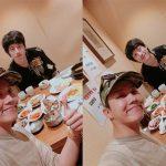 「防弾少年団」J-HOPE、訪韓した坂口健太郎との食事風景を公開…イケメン2人に視線集中
