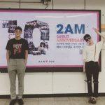 """チョグォン&チョン・ジヌン、2AM10周年を祝う…""""1日も早く4人で集まりたい"""""""