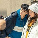 <トレンドブログ>「ASTRO」チャ・ウヌ&「Weki Meki」キム・ドヨンが猛暑の中で冬物衣料の撮影に挑む!!