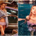 <トレンドブログ>元「T-ARA」キュリ、完璧なビキニ姿で夏休暇を報告する♪