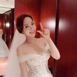 俳優パク・ソジュンと熱愛説のパク・ミニョン、SNSでウェディングドレス公開し話題