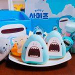 韓国「DUNKIN' DONUTS」の新商品キャラクターに「サメーズ」が登場!