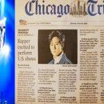 MONSTA XのI.M、アメリカ有名日刊紙の一面を飾る…通訳なしの全英語インタビューが掲載