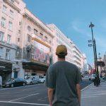 俳優パク・ソジュン、 後ろ姿もイケメン…広い肩幅が印象的