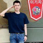 「PHOTO@華川」BTOBウングァン&HALOディノ、今日(21日)27師団イギジャ部隊新兵教育隊にそろって入所
