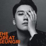 "BIGBANGの""V.I (ヴィアイ)""、9/5発売の約5年ぶりとなるジャパンニュー・ソロ・アルバム「THE GREAT SEUNGRI」ジャケット写真・MV公開!!"