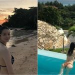 <トレンドブログ>「Davichi」カン・ミンギョン、夕焼けに映える水着姿を公開し、話題に♪