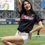 韓国No.1チアリーダーのパク・キリャン、球場もバラエティ番組もラジオまで席巻