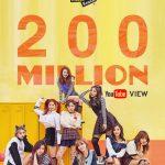 「TWICE」、「KNOCK KNOCK」MVが再生回数2億回突破