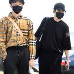 「PHOTO@仁川」Wanna Oneはバーバリーブーム? メンバー中3人がバーバリーに身を包みLAに向けて出国