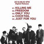 BIGBANGの系譜を継ぐ7人組ボーイズグループiKON(アイコン)、 「NEW KIDS : CONTINUE -KR EDITION-」8/2 18時デジタルリリース決定!