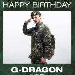 G-DRAGON(BIGBANG)、軍服の敬礼写真公開で入隊してから初めての誕生日祝う