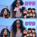 """米女性歌手、防弾少年団のTwitterのお陰で新曲人気爆発…""""I love BTS"""""""