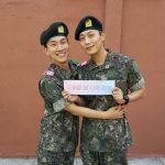 """""""軍入隊""""BTOBウングァン、直筆の手紙を公開「分隊長になった..ユン・ドゥジュンがたくさん助けてくれる」"""