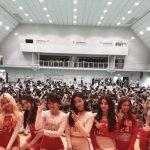 「イベントレポ」MOMOLAND!!「あなたの学校におじゃまします!」企画福岡の高校へサプライズ訪問!!