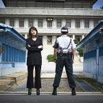 """女優キム・ヘス、南北首脳の対話場所""""徒歩の橋""""を訪問…民間人で初"""