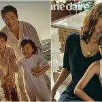 """<トレンドブログ>クォン・サンウ♡ソン・テヨン夫婦、結婚10周年を記念した""""家族写真""""が公開!"""