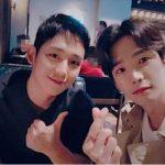 <トレンドブログ>チョン・ヘイン&コ・ユン、仲良しな2ショット!イケメン2人に癒される