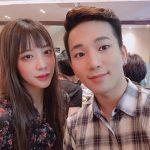 G.O(MBLAQ)、女優チェ・イェスルとの交際400日記念写真を公開