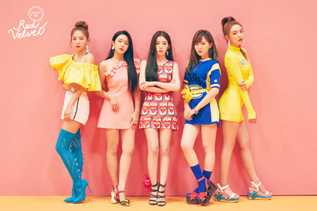 「Red Velvet」、「Peek-A-Boo」MVが1億再生突破