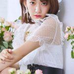 「IZ*ONE」チャン・ウォニョン×宮脇咲良×チョ・ユリ、魅惑的なまなざし