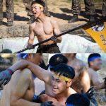 男たちが裸で雄叫び…「本物の男300」PENTAGON ホンソク&カン・ジファンらが激しく対決