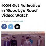 """ビルボード、iKONの新曲「GOODBYE ROAD」にスポット""""歴代級の切ない感性"""""""