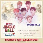 MONSTA X、K-POPグループ初の米 アイ・ハート・ラジオの年末ショー「Jingle Ball」6都市ツアー出演「式的立場」