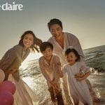 【トピック】クォン・サンウ&ソン・テヨン夫婦、結婚10周年を記念した家族写真を公開!
